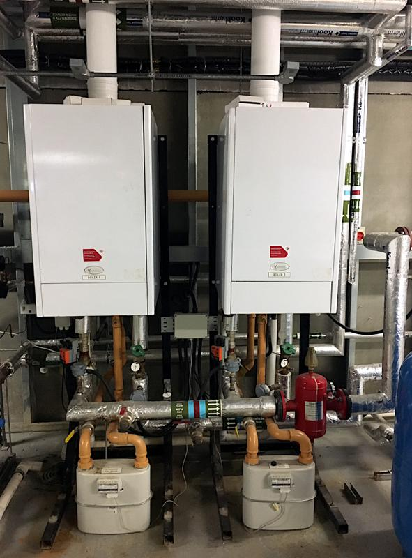 Image 52 - 2x Ethos 150kw Commercial Boilers