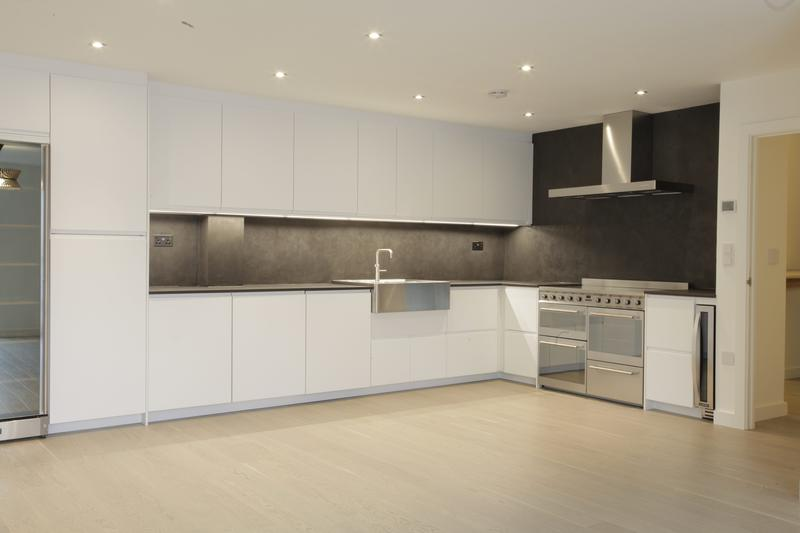 Image 1 - Kitchen renovation- underfloor heating, engineered wood flooring, new kitchen units and appliances, stone ceramic worktop, new lights and LED strips in Bermondsey