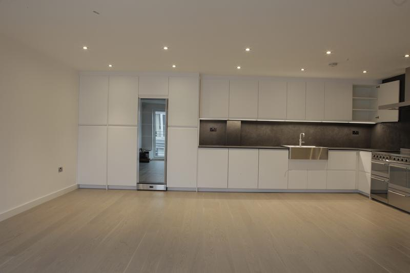 Image 6 - Kitchen renovation- underfloor heating, engineered wood flooring, new kitchen units and appliances, stone ceramic worktop, new lights and LED strips in Bermondsey