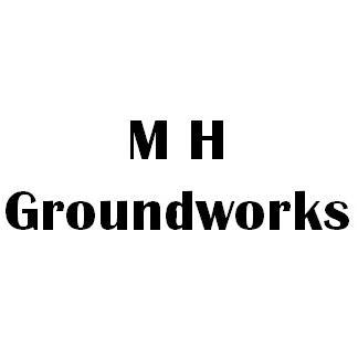 MH Groundworks logo