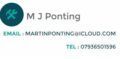 MJ Ponting Painting & Decorating & Property Maintenance logo