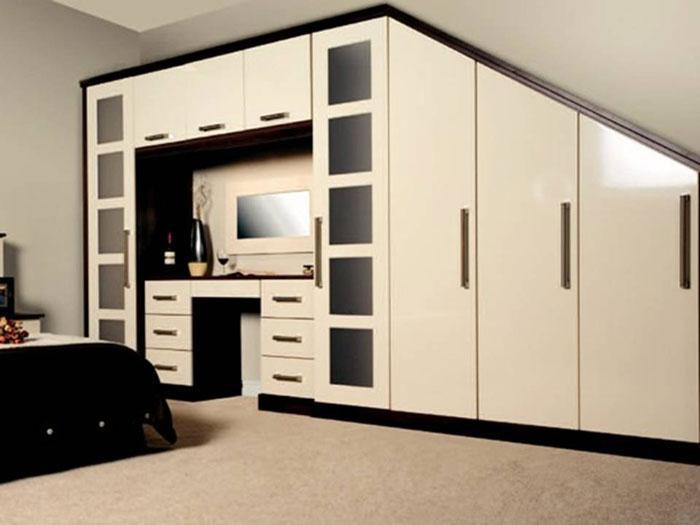 Image 20 - Loft and attick fitted bedroom furniture