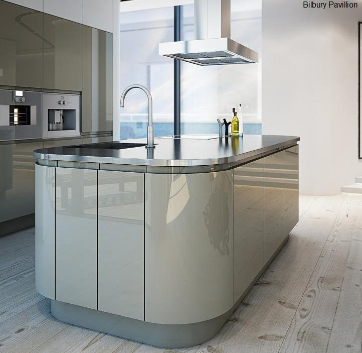 Image 19 - Handless fitted kitchen