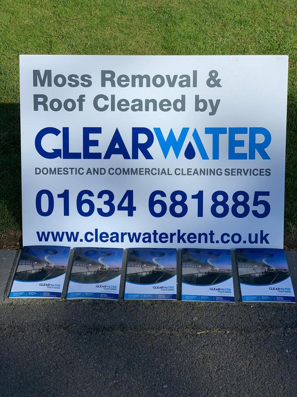 Image 1 - moss removal and roof cleaning