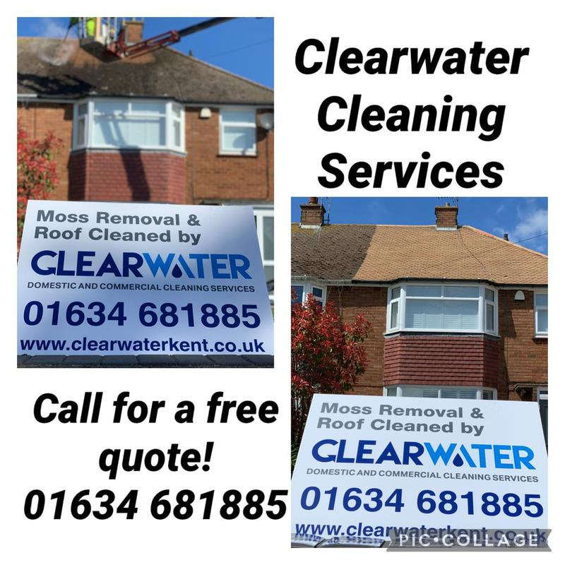 Image 2 - moss removal and roof clean please do not hesitate to contact us