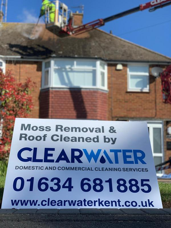 Image 3 - moss removal and roof clean