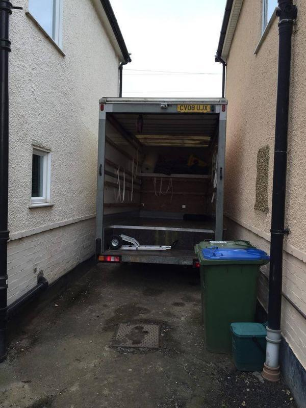 Image 16 - Our luton van can fit in the smallest of places