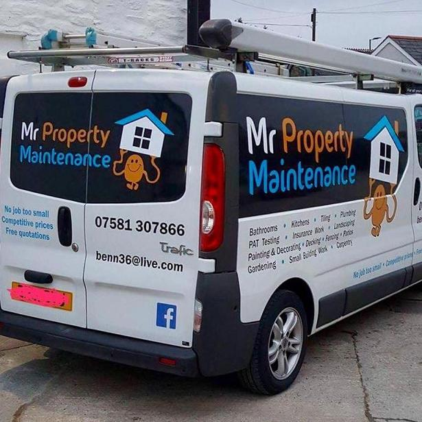 Image 18 - You can't miss our van!