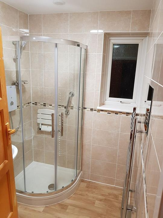 Image 53 - Complete bathroom refit - see our facebook page for before photos!