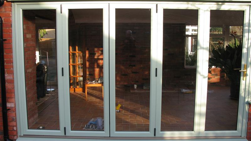Image 37 - 5 section folding door