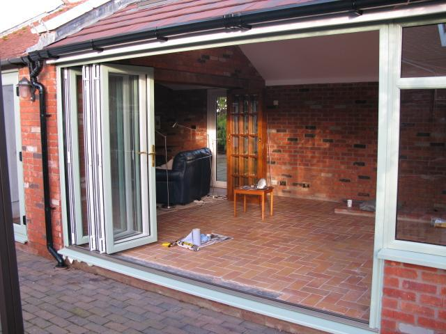Image 38 - 5 section folding doors opened