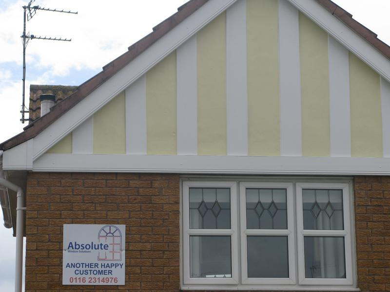 Image 4 - White Ogee fascia install in Thorpe Astley