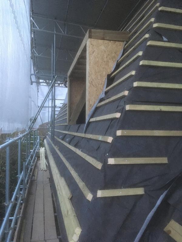 Image 8 - new loft roof.