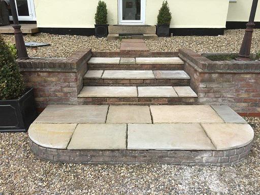 Image 18 - Indian sandstone steps