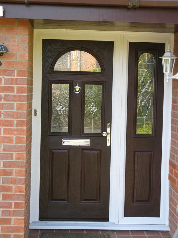 Image 33 - Compsite door & composite side panel install in Loughborough