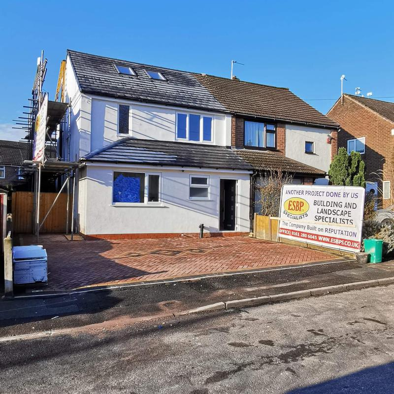 Image 230 - Loft conversion & Extension - Whitefield - Final touches