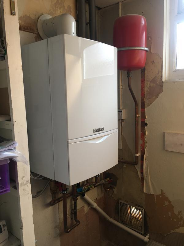 Image 6 - New boiler installation at a community hall
