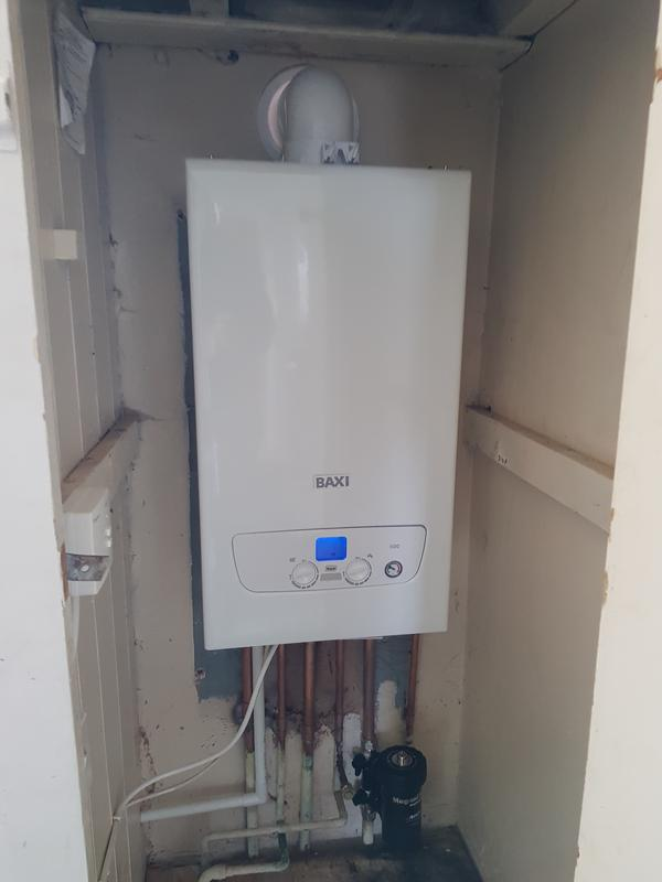 Image 4 - New combi boiler installed