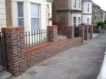 Image 164 - Brick wall /fence designs