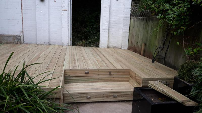 Image 85 - HIGHGATE - DECKING REPLACEMENT