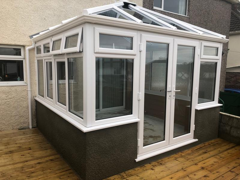 Image 20 - New build conservatory and decking reinstated. Veka frames and Ultraframe Classic roof, giving these lovely customers their dream come true conservatory solution.www.conservatorymakeovers.com