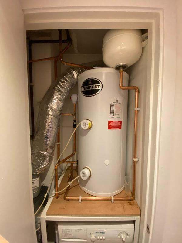 Image 3 - New Unvented Hot Water Cylinder