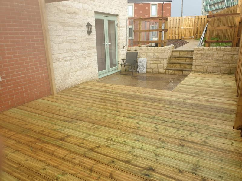 Image 182 - New decking