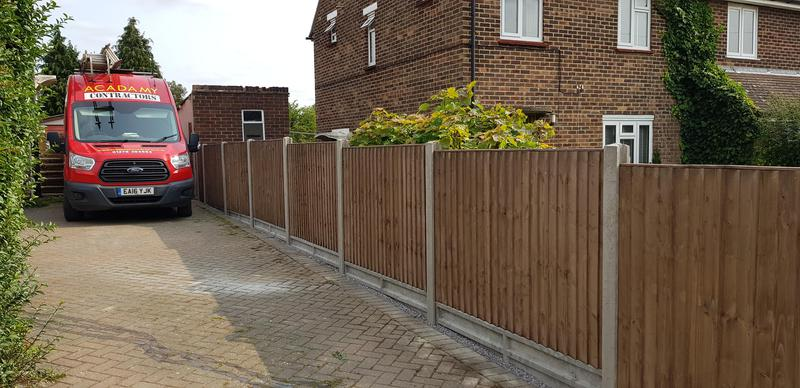 Image 4 - Concrete Closeboarded Fence