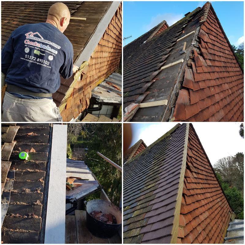 Image 5 - Re-build gable end in Esher with a 5 year guarantee.