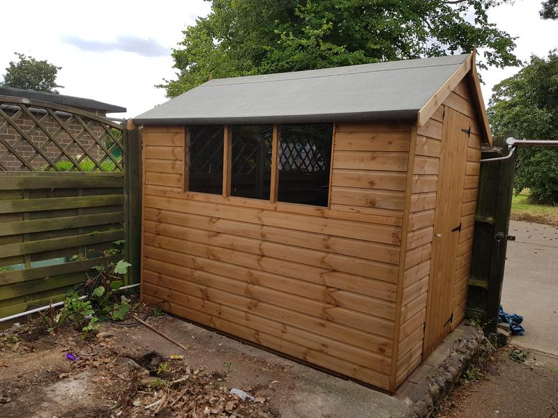 Image 17 - 8' x 6' Apex Garden Shed