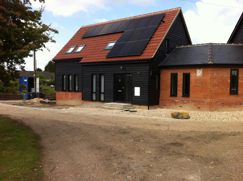 Image 33 - 2 new build link detached houses in buntingford complete with solar panels and air source heat pumps