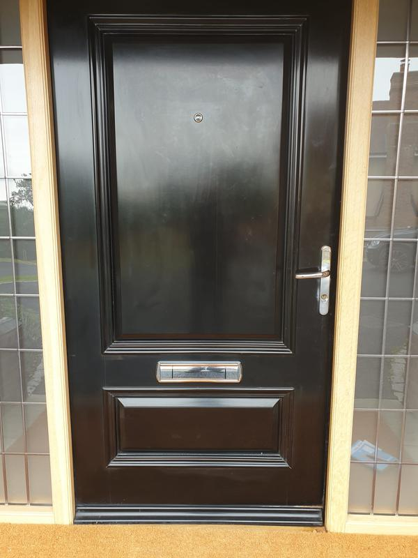 Image 3 - New letterbox & spyhole fitted.