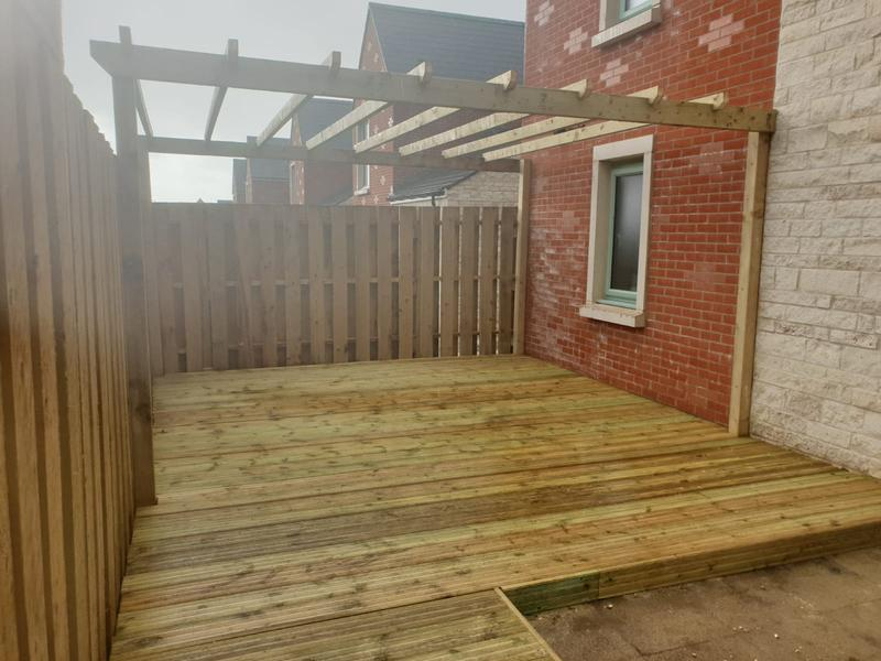 Image 186 - New decking and pergola