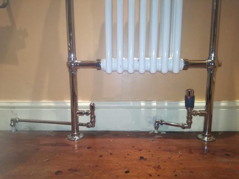 Image 1 - Repaired and Renewd radiator pipes and TRV Mersea Island