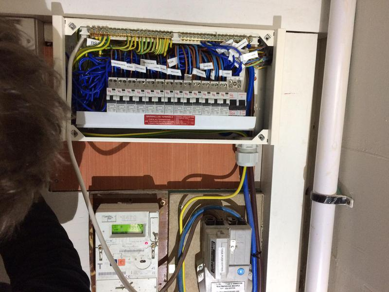 Image 19 - RCBO protected fuse board installation.