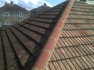 Image 14 - Renewel of Ridge tiles