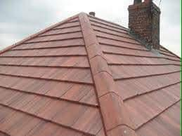 Image 22 - New tiled roof mortar bedded hip and ridge system
