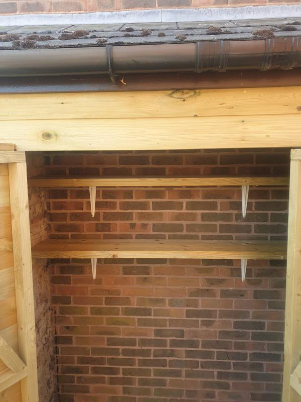 Image 46 - New custom built storage shed with shelves