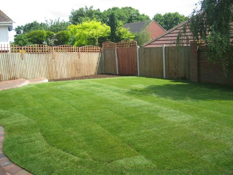 Image 15 - New turfed lawn