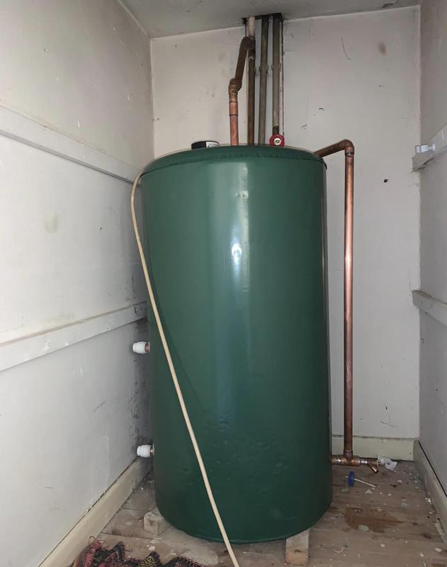 Image 16 - new cold water tank, supplied and installed for our customer in hemel hempstead, as there old one split.