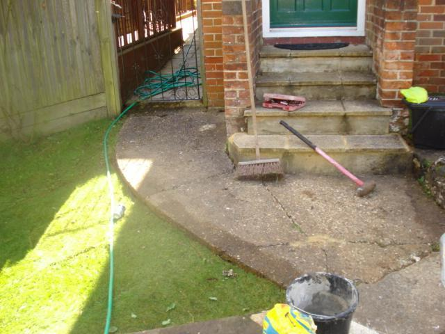 Image 23 - area before new slabs laid