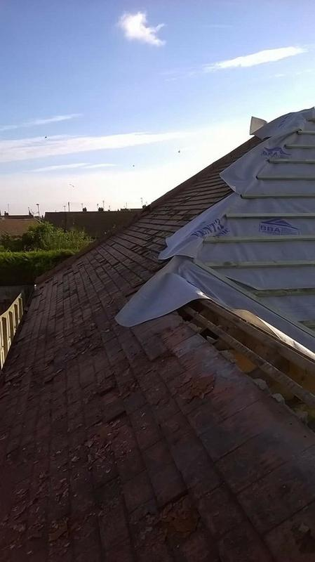 Image 68 - Re-roof ( During )