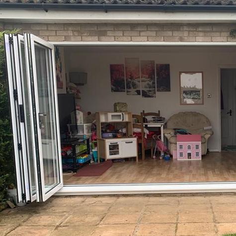 Image 8 - After - New Bifold Door