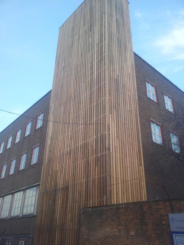 Image 1 - Liverpool uni- cladding