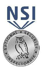 Image 8 - National Security Inspectorate