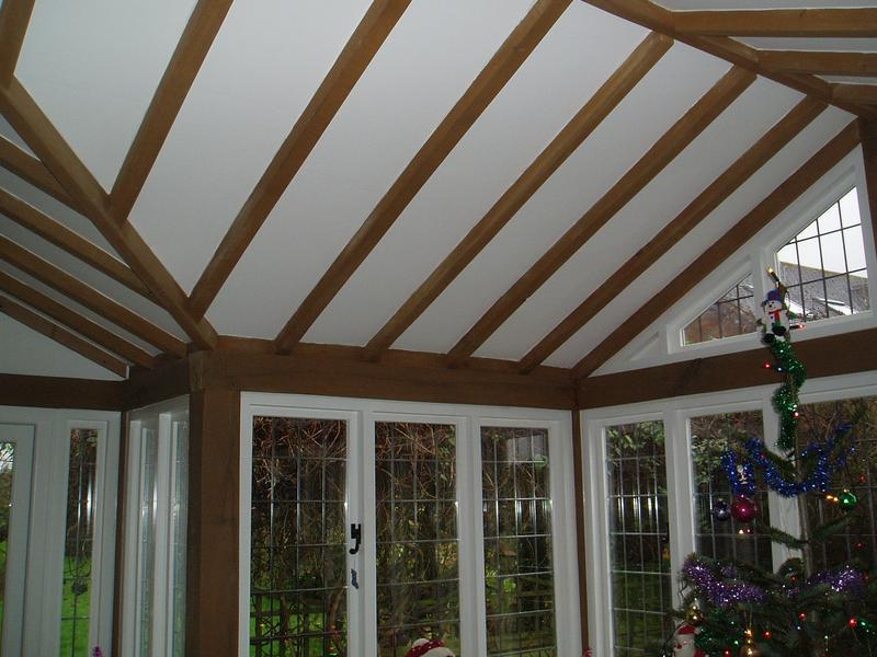 Image 25 - Oak vaulted ceiling to summer room