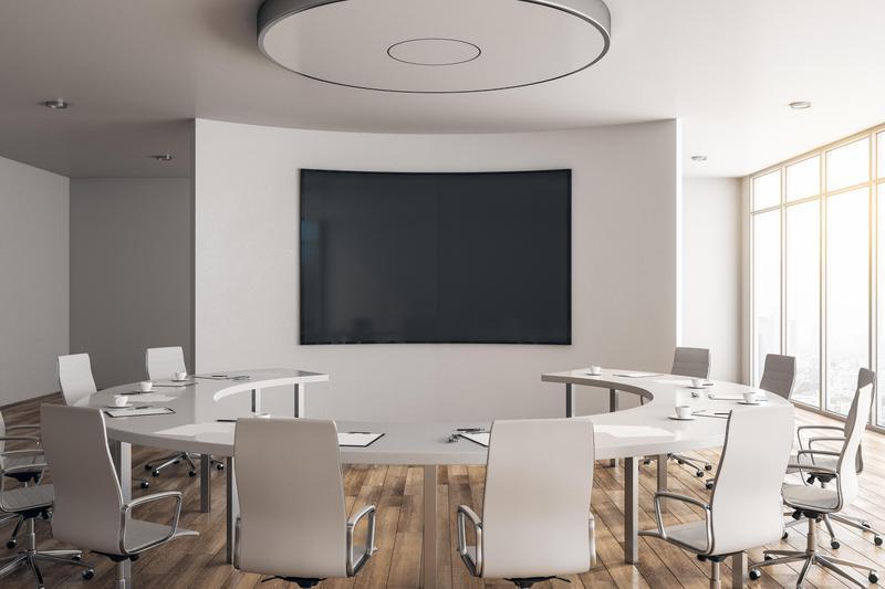 Image 9 - Curved Wall AV Installation