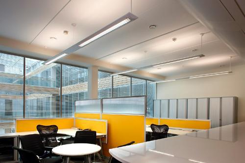 Image 1 - Office lighting. Designed and installed by LDG ELECTRICAL