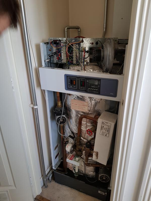 Image 2 - Old Floor standing boiler