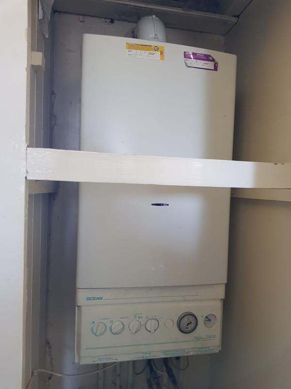 Image 3 - Old non condesing boiler